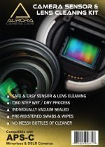 Aurora Camera Care : Camera Sensor & Lens Cleaning Kit Bundle (APS-C)