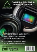 Aurora Camera Care : Camera Sensor & Lens Cleaning Kit Bundle (Full Frame)