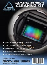 Aurora Camera Care Camera<br>Sensor Cleaning Kit<br>(Micro Four Thirds)