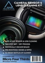 Aurora Camera Care : Camera Sensor & Lens Cleaning Kit Bundle (Micro Four Thirds)