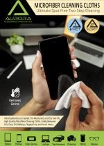 Aurora Microfiber Cleaning Cloths